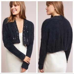 Anthropologie Knitted & Knotted Soiree Cardi NEW